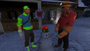 (Solo Shot) Snowman Decoration by AwesomeCasey795