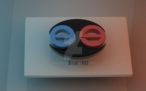 EduHome - 3D Circle On White by Phomograph