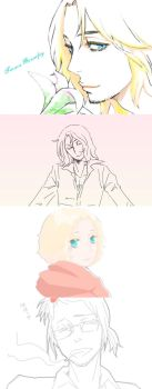 APH France doodle set by Chitanchitan