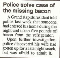 The Case Of The Missing Bacon by clippys