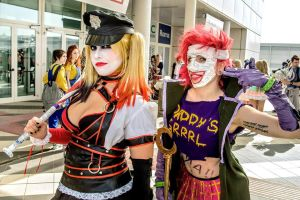 HARLEY QUINN an DUELA DENT COSPLAY by arydiabolika