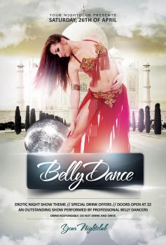 Belly Dance - Flyer Template by YczCreative