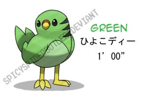 Parakeet Fakemon by TRspicy