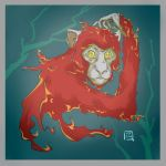 Year of the Fire Monkey by Dn04