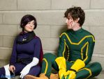 Hit-Girl and Kick-Ass 2 by SublimationPro