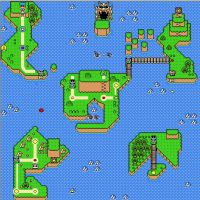 My SMW Rom Hack OW map by TheBigMan0706