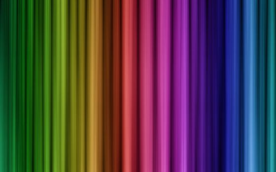 Colourful Abstract Lines by theRealPadster