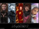 X-MEN wallpaper full color by icyheart