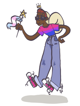Fairy God Trans Father (for a friend) by tikibats