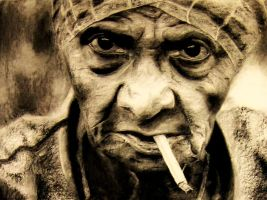 Old Woman by Someth