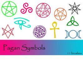Pagan Symbols by TD-Brushes
