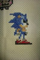 Sonic Cross Stitch by Ulla-Andy
