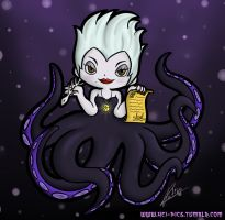 The Sea Witch Ursula by Yei-Pi