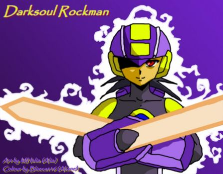 Dark Rockman ::Collab:: by Bluecat16