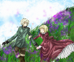 Hetalia - Siblings by deKaori