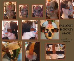 HOCKEY MASK FALLOUT FINISHED by Maewolf86