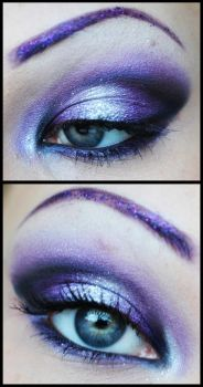 Glam rock inspired by M00N-flower