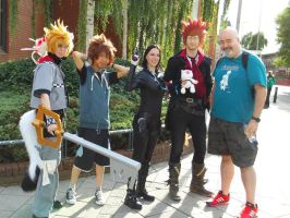 Alcon2013 - Kyle Hebert, Kingdom Hearts and Selene by BritishBumpkins
