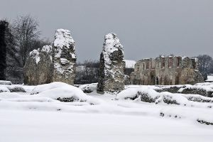 Snowy Priory1. by quaddie