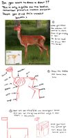 Basic Deer Tutorial by kovah