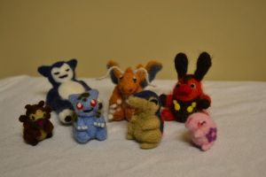 Needle Felted For Sale 2 by feltieflaffy