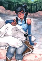 Team Avatar: Korra by fairyxdemon