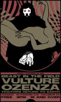 BEAST IN THE FIELD VULTURE POSTER by BURZUM
