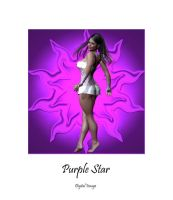 Purple Star by montalvo-mike