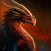 Red Dragon v2 by victter-le-fou