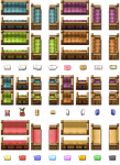 RPG Maker VX/Ace - Sofas and Armchairs by Ayene-chan