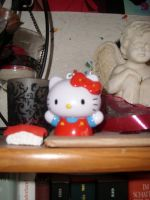 Hello Kitty red by Lelias