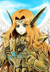 Angel (colored) by Fahad-Naeem