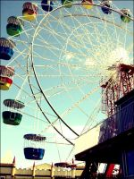 Carnivals and Cotton Candy by likethat