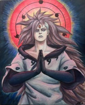 Madara, the Mad God of Illusion by loonelybird
