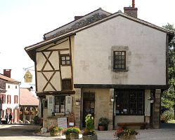 Leaning House of Charroux by smallsofthamish