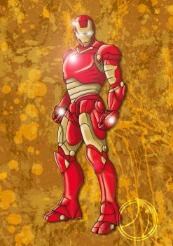 Iron Man by ammerseearts
