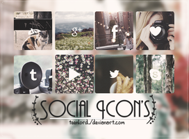 Social Icon's by Luunatico