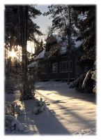 Snow and the sun by Skycode