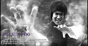 Bruce Lee Signature by Necrorrior
