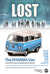 VW LOST Dharma Van icons by PauloDuqueFrade