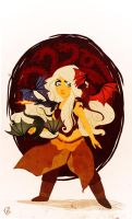 Fire and Blood by eightbreeze