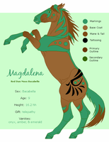 Reference Sheet: Magdalena by SaraChristensen