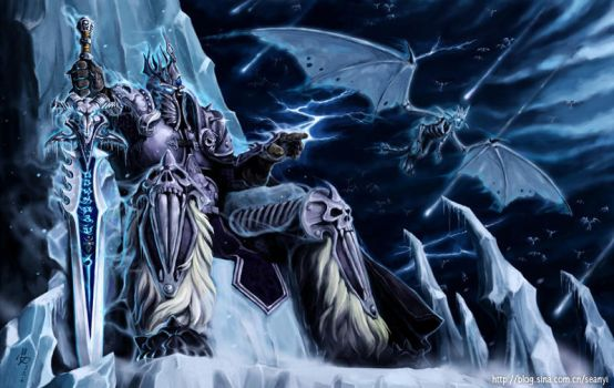 Wrath of the Lich King by seanyi