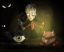 .: Don't Starve :. by Silvernish