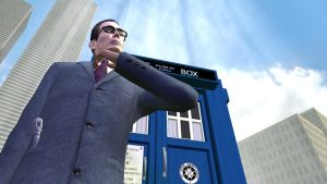 Time Lord G-Man (Part 5) by andycastaneda