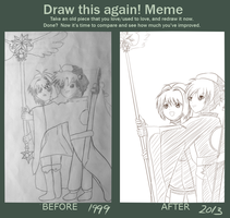 Draw this again! Meme - Cardcaptor Sakura by Tart-Spirit
