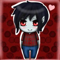 Marshall Lee Chibi Adventure time by veronica1134