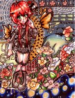 AT: Rara has a garden :3 by Dino-Chan44