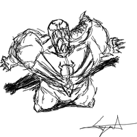 Quick venom sketch by cyril002