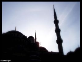 Blue Mosque by Jupit3r